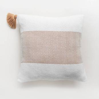 Handwoven Copper Pillow