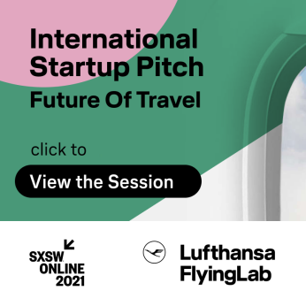 VIEW SESSION | Future of Travel - Lufthansa FlyingLab Startup Pitch