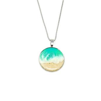 Shoreline Necklace (large pendant)