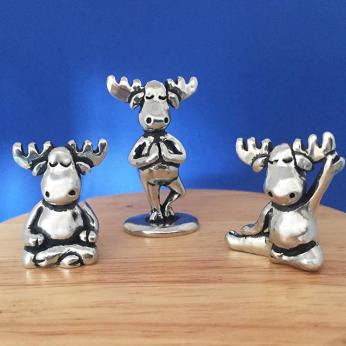Yoga Moose Miniatures