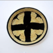 Symmetrical Handwoven Wall Basket
