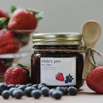 Silda's Red + Blue Jam