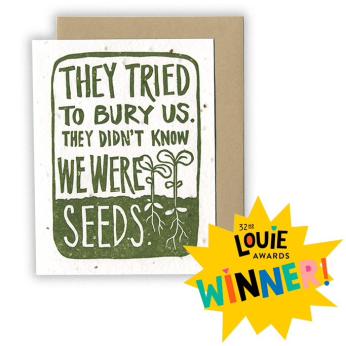 Tried to Bury Us CARD