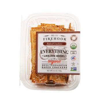 Firehook Organic Baked Crackers - Everything