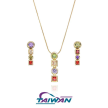 Multi Colorful Stones Jewelry Set
