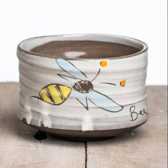 """Bee The Change"" Tea Bowl"