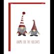 Holiday Greeting Card - Gnome