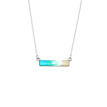 Shoreline Horizontal Bar Necklace