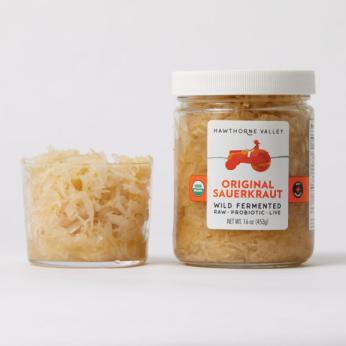 Organic Raw Sauerkraut