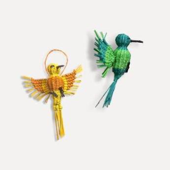 Noël Colibri Humingbird Holiday Ornaments