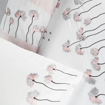 Dusty Pink Dandelion Bedding Set