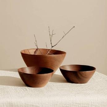 Mahogany Wood Bowl, Itza Wood