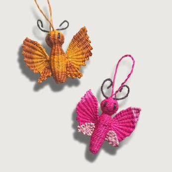 Noël Mariposa-Butterfly Holiday Ornaments