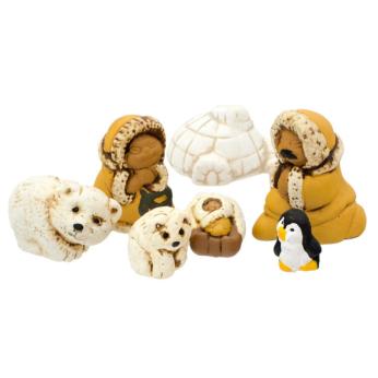Polar Nativity Petite Set