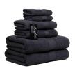 Chortex® Mayfair™ 6 Piece Guest Towel Set, Charcoal