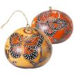 Monarch Butterfly Gourd Ornament