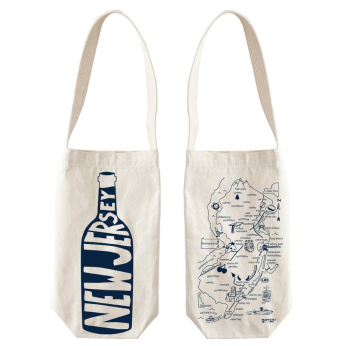 New Jersey Wine Tote