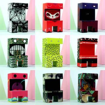 "Paper toys series 2 ""Nikodemus"""