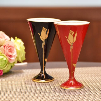 Golden Rose Paired Wine Cup