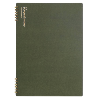 Logical Prime W Ring Notebook A4