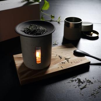 Sanoka Kaoru Tea incense burner gift