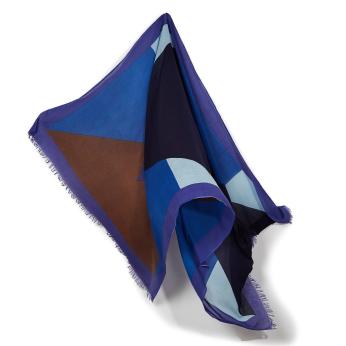 Randy blue scarf