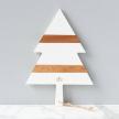 White Mod Tree Charcuterie Board, Small