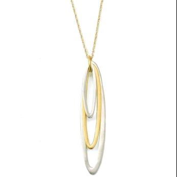 three ovals necklace
