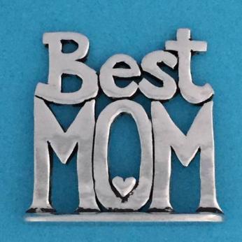 Best Mom Tiny Plaque