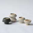 Mushroom Riverstone Candleholder