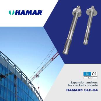 HAMAR® SLP-H4 Torque controlled expansion anchors