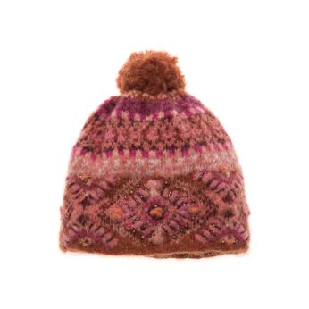 Cozy Ethnic Hat - Spice