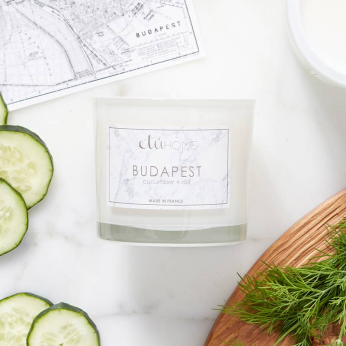Budapest, Cucumber and Dill Candle