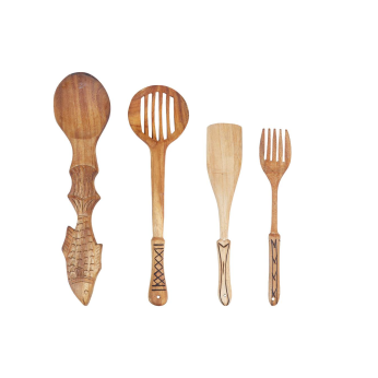 Rose wooden spoons