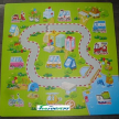 Safety foam printing puzzle play mats