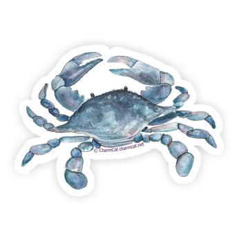 Blue Crab 3 Inch Sticker