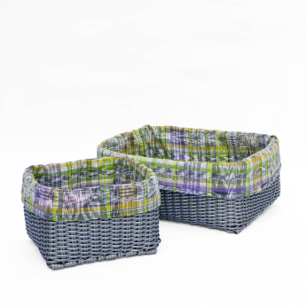 Square baskets ~ small & large