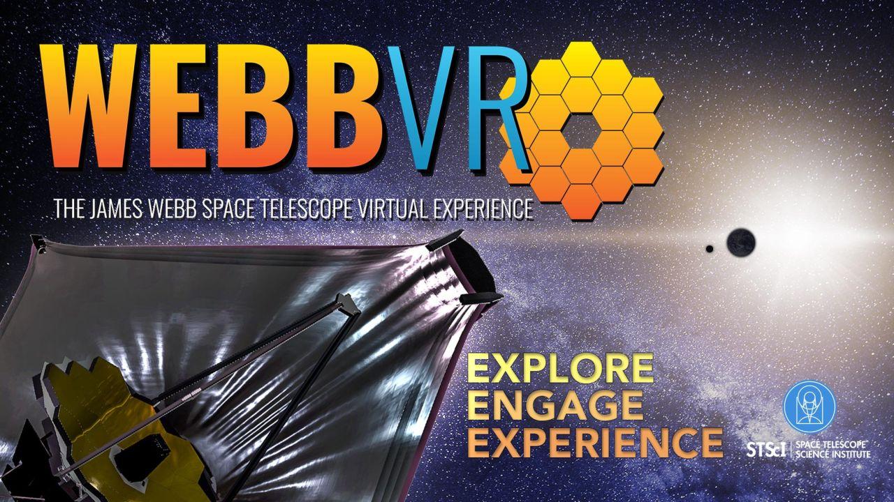 WebbVR: The James Webb Space Telescope Virtual Experience