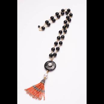 Sayo Tassle Necklace