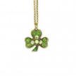 Lucky Swarovski Shamrock Necklace