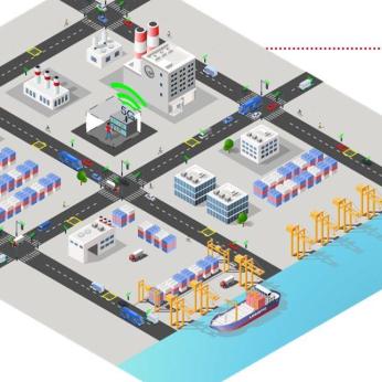 HPA - Verkehrsflussoptimierung: Dynamische Ampelschaltung im Hamburger Hafen (German)