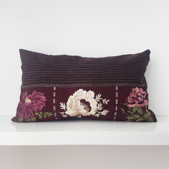 Ulos Floral Cushion Cover