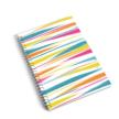 Spiral Notebook Multi Stripe