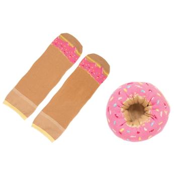 Doughnut Socks - Berry Sprinkles
