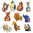 Wild Mix - Confetti Ceramic Ornament (sold in 12's)