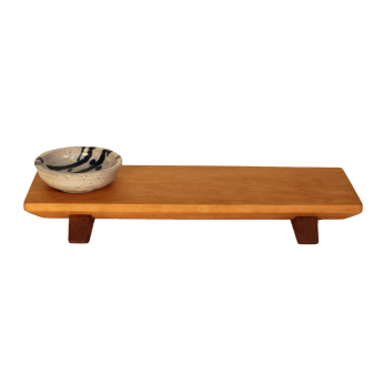 Sushi Board with Dipping Bowl