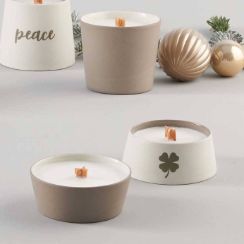 DECORATIVE OBJECTS Small Conic Candle