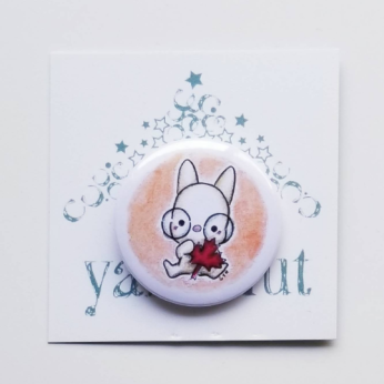 Pin button - Red