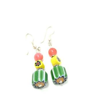 Trade Beads Earrings