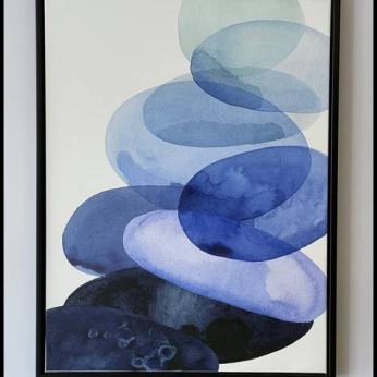 Blue Pebbles i
